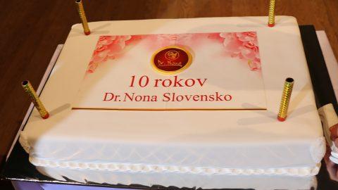 10 лет компании Dr. Nona в Словакии