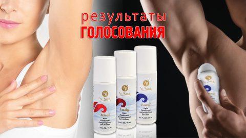 Результаты опроса по дезодорантам Dr. Nona